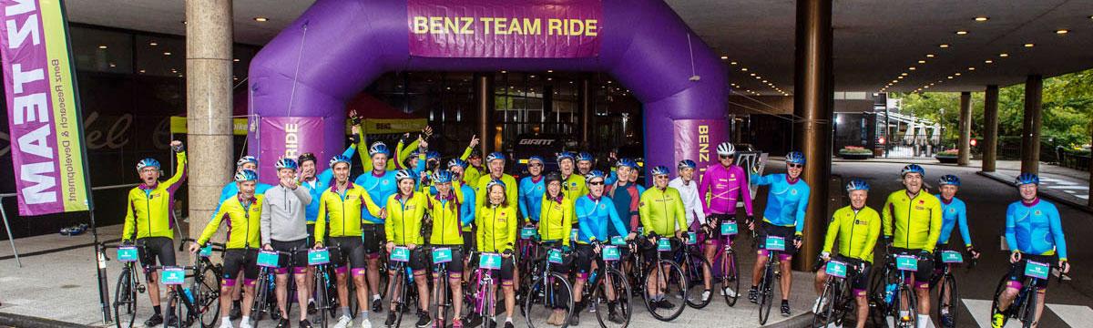 Benz Team Ride Amsterdam 2021